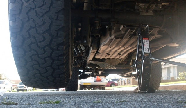 Ford F150 F250 Jack Up Truck How To Ford Trucks