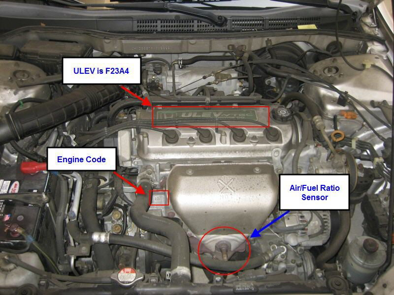 97 honda accord oxygen sensor wiring diagram