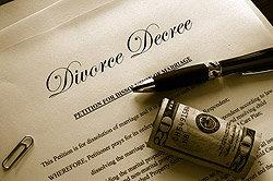 Divorce Decree and Money