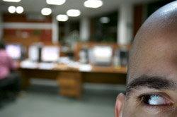 Black Man in Office