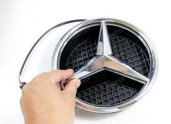 Mercedes benz c class w204 how to install illuminated star for Illuminated star mercedes benz installation