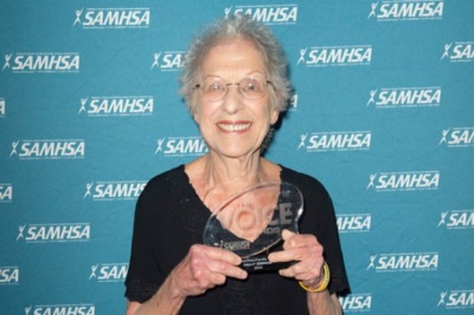 SAMHSA winner Sally Zinman