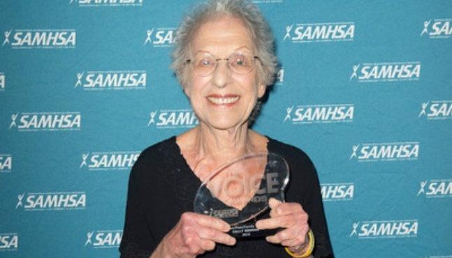 SAMHSA winner Sally Zinman