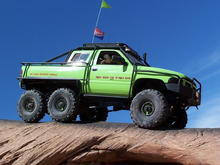 Dodge T-Rex 6x6.   Dodge should have kept the project and built these.