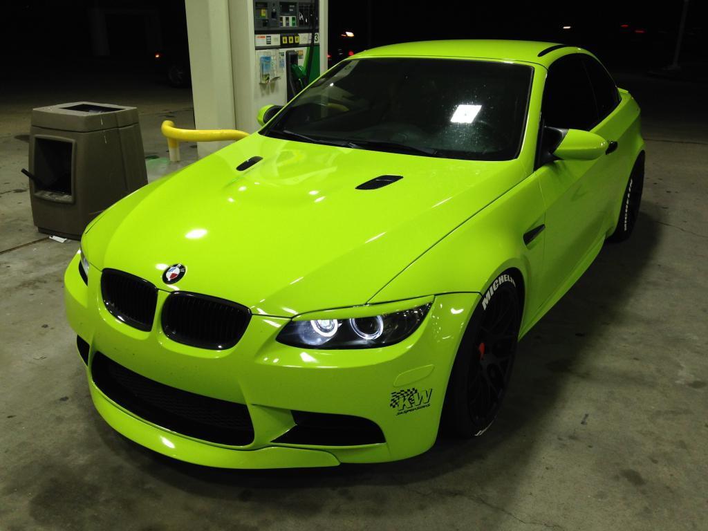 2011 Bmw E93 M3 Lime Green Convertible Lotustalk The