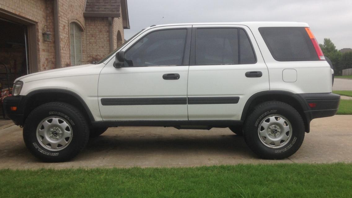 Crv lift kit or bigger tires off roadin page 21 honda for 1999 honda accord tire size