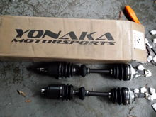 axles came in today