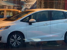 2016 White Orchid Pearl Honda Fit Hit