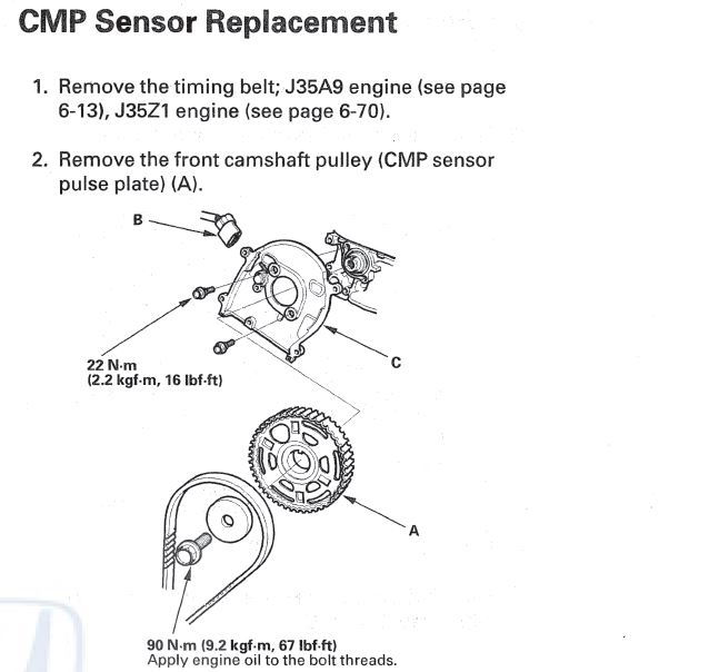 Camshaft Position Sensor Location 3242032 as well Watch also General Links furthermore Honda Vtec Oil Filter Location further Discussion T30709 ds520785. on 2007 acura mdx timing belt