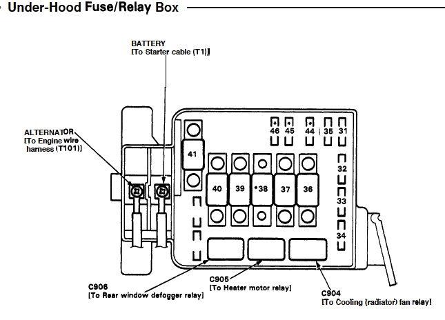Image Result For 2000 Honda Civic Wiring Diagram