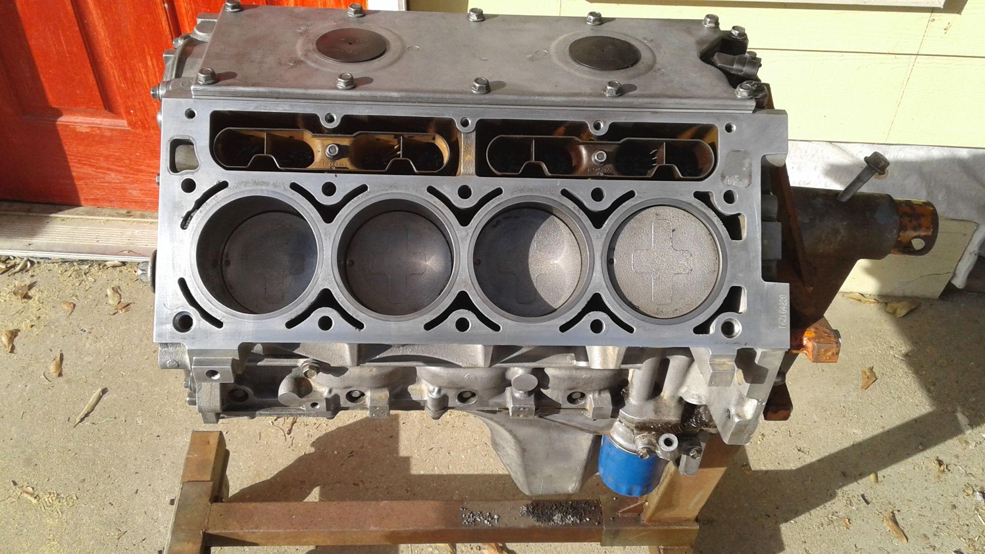 New Update L33 2006 Short Block Aluminum 5 3 Vortec