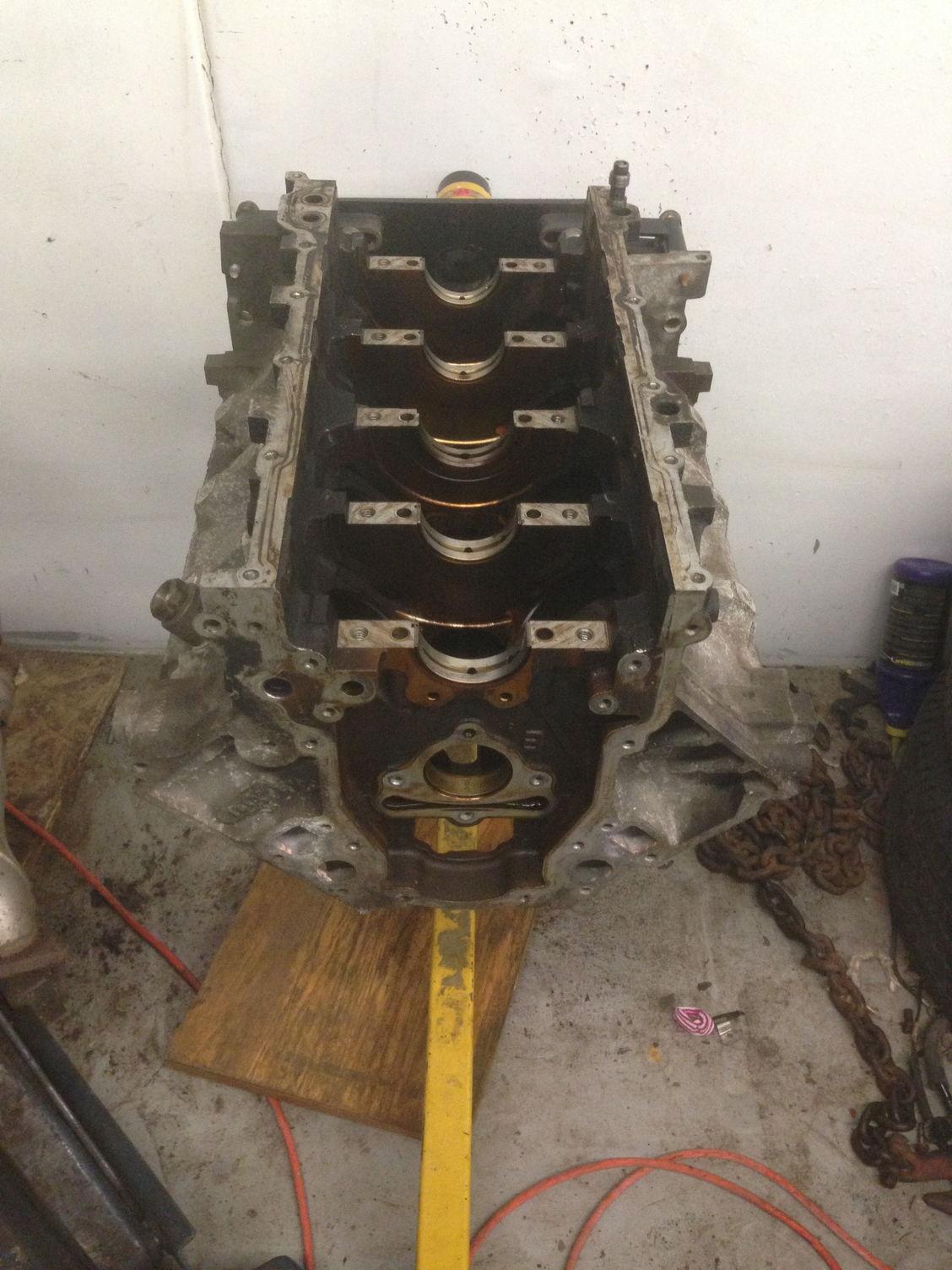 L33 Aluminum 5 3l Engine Block Crank Rods Flat Top