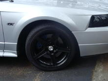 my 2nd stang after paint and exterior upgrades