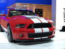 2010 Ford Mustang Shelby GT500 Passenger Side Front Corner