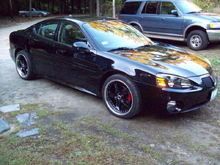 My Daddy car:  Supercharged Grand Prix on 20s.