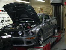 Whipple on the Dyno