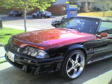 the 86 convertable hidin in the back