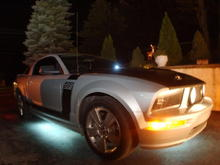 Street glow and windsheild wiper fluid LEDS 9-27-2009