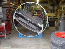 SDC13062  1968 R code Mustang undergoing a full restoration