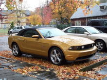 My 2010 GT Vert in downtown Gatlinburg, Oct 31 2009