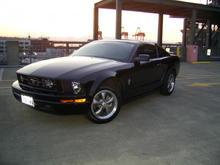 Garage - The car.