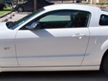 2008 Mustang GT profile