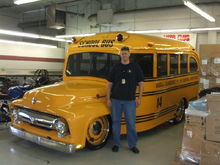 John Forces Bus as done by Overhaulin'