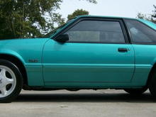 "Near mint 1993 LX with 60,000 original one owner miles.  Originally from New Mexico - is a rare Calypso green with scarce factory air conditioning delete and removeable sunroof.  Engine is 5.0, 5 speed and 100% stock...have BBK shorties, MAC X pipe (cat delete), MAC cat back system, and MAC cold air intake to install this weekend.  Intend to add 17"" x 9"" black rims with polished lip on rear and 17"" x 8"" in from but hope to keep stock otherwise.  Is really show quality!"