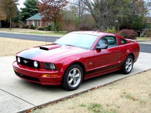 08 Mustang GT - Dark Candy Apple Red