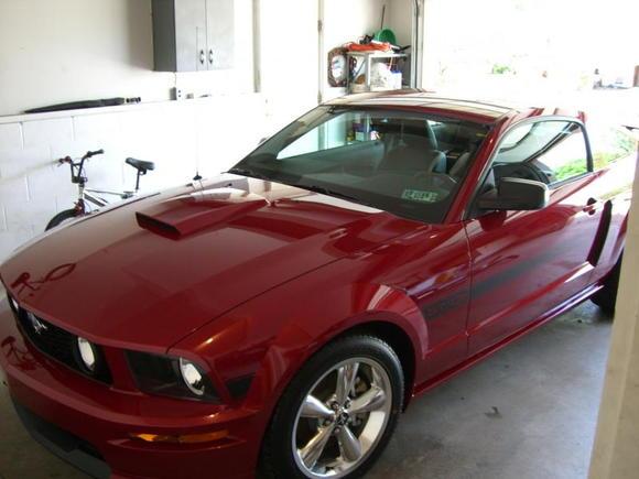 2009 Mustang GT/CS