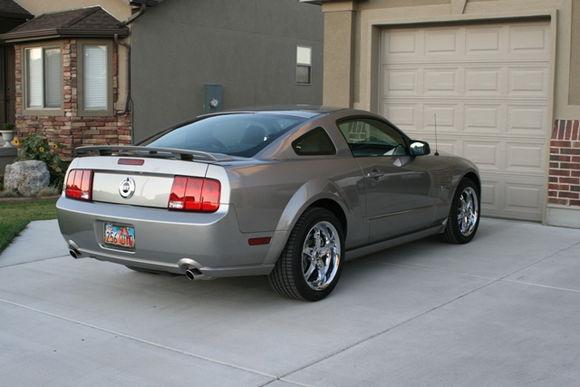 Rear 2008 GT