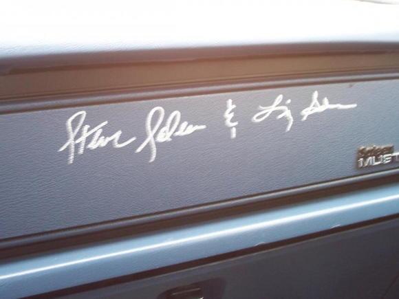 Signature's....