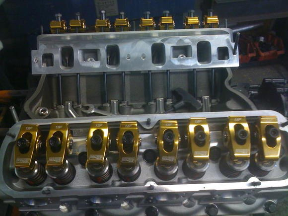 cnc ported trickflow 225cc heads... 330F