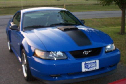 2003 Mach 1 Azure Blue 5spd w/IUP