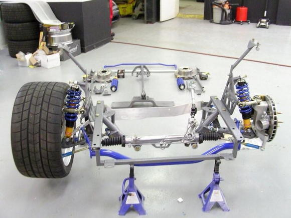 Suspension set up on UBB mustang
