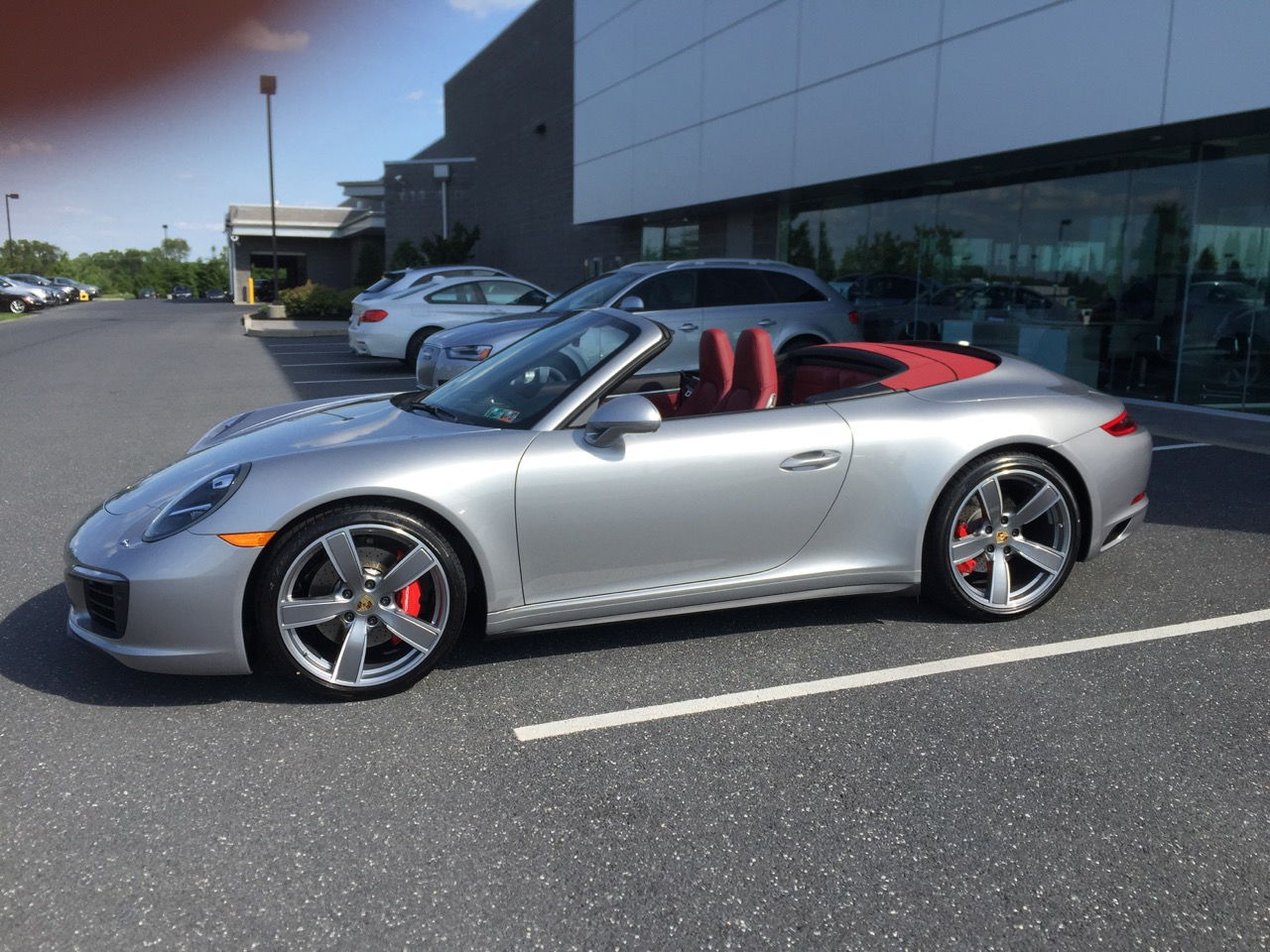 Gt Silver 991 2 Has Arrived Rennlist Discussion Forums