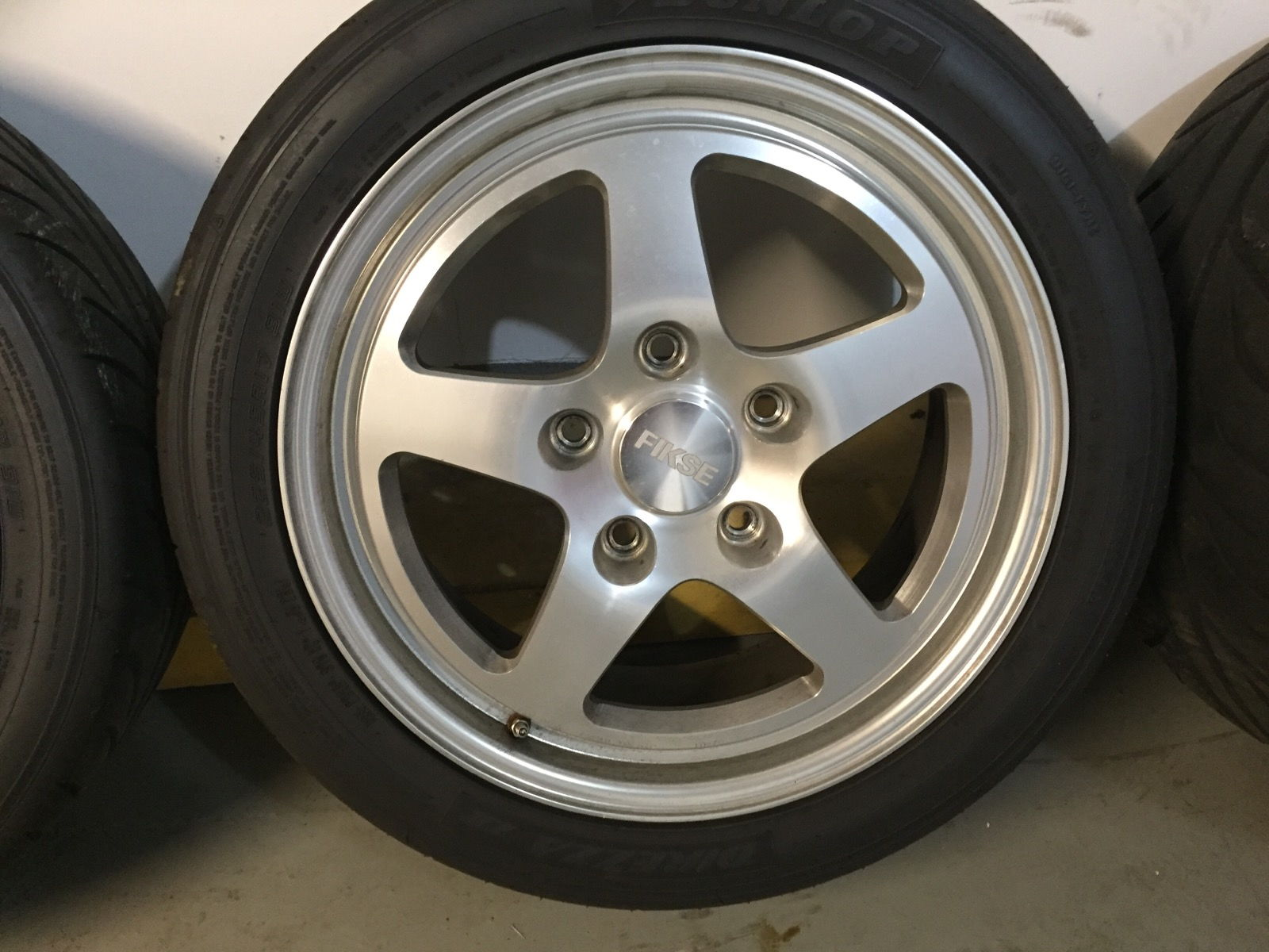 17 Quot Fikse Fm5 S With Dunlop Direzza Ii Tires For 964 Or