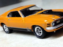 I found this Johnny Lightning '70 Mach 1 the other day at Target.