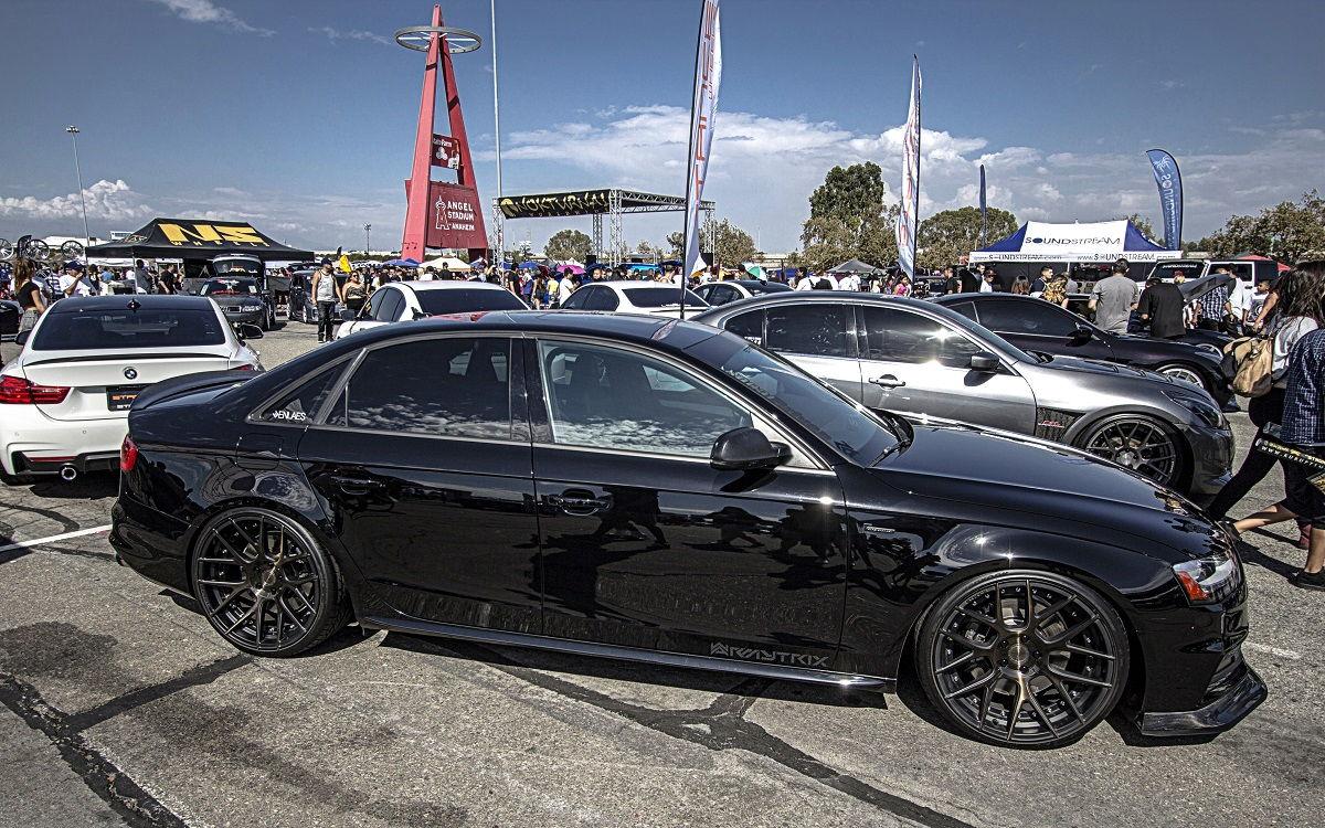 Custom Audi S4 >> Dark Vader Audi S4 B8.5 with Armytrix F1 Edition Catback Valvetronic Exhaust - Videos ...