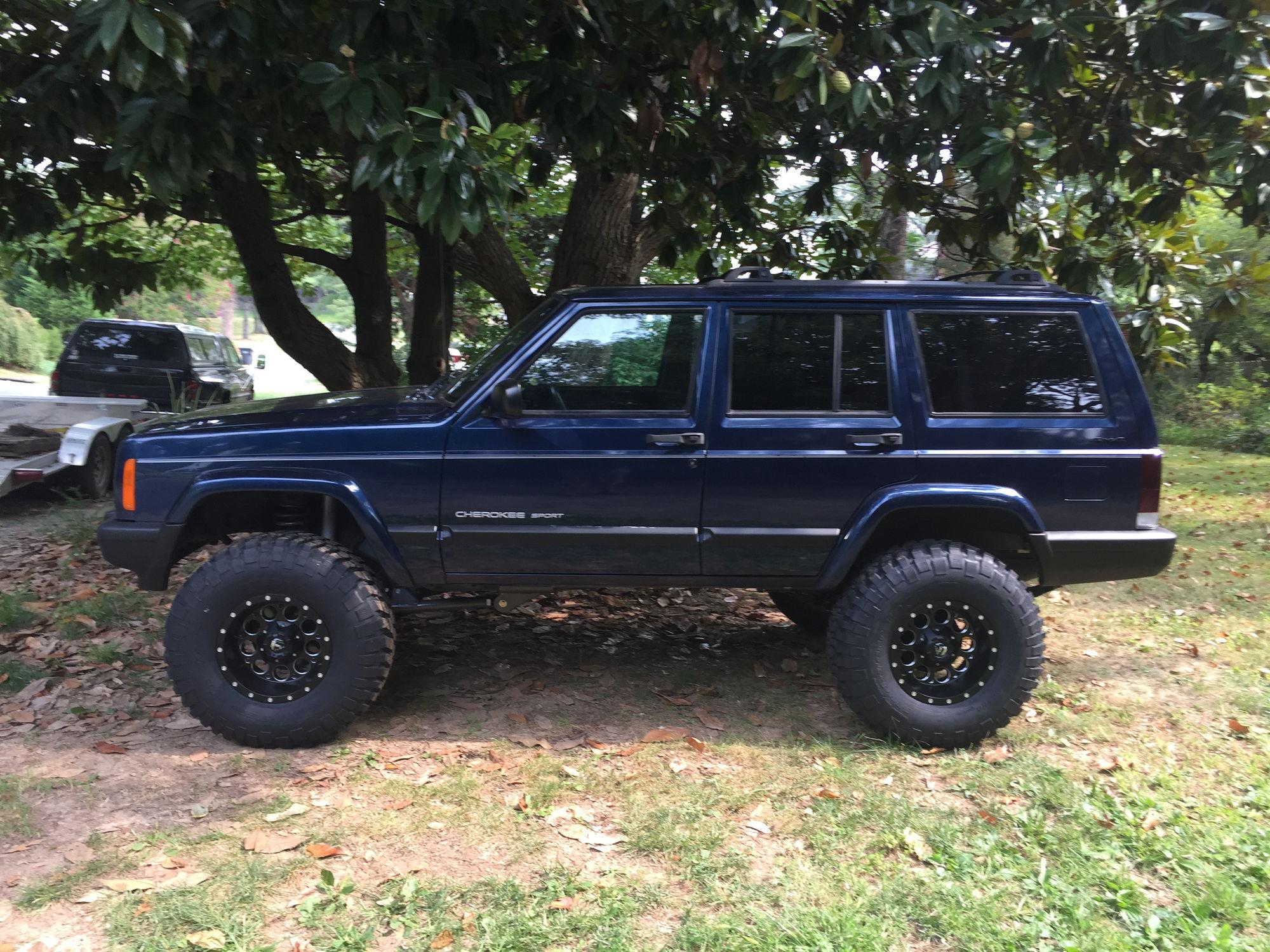 Lifted Jeep Xj >> 4.5 Lift 2000 xj build - Jeep Cherokee Forum