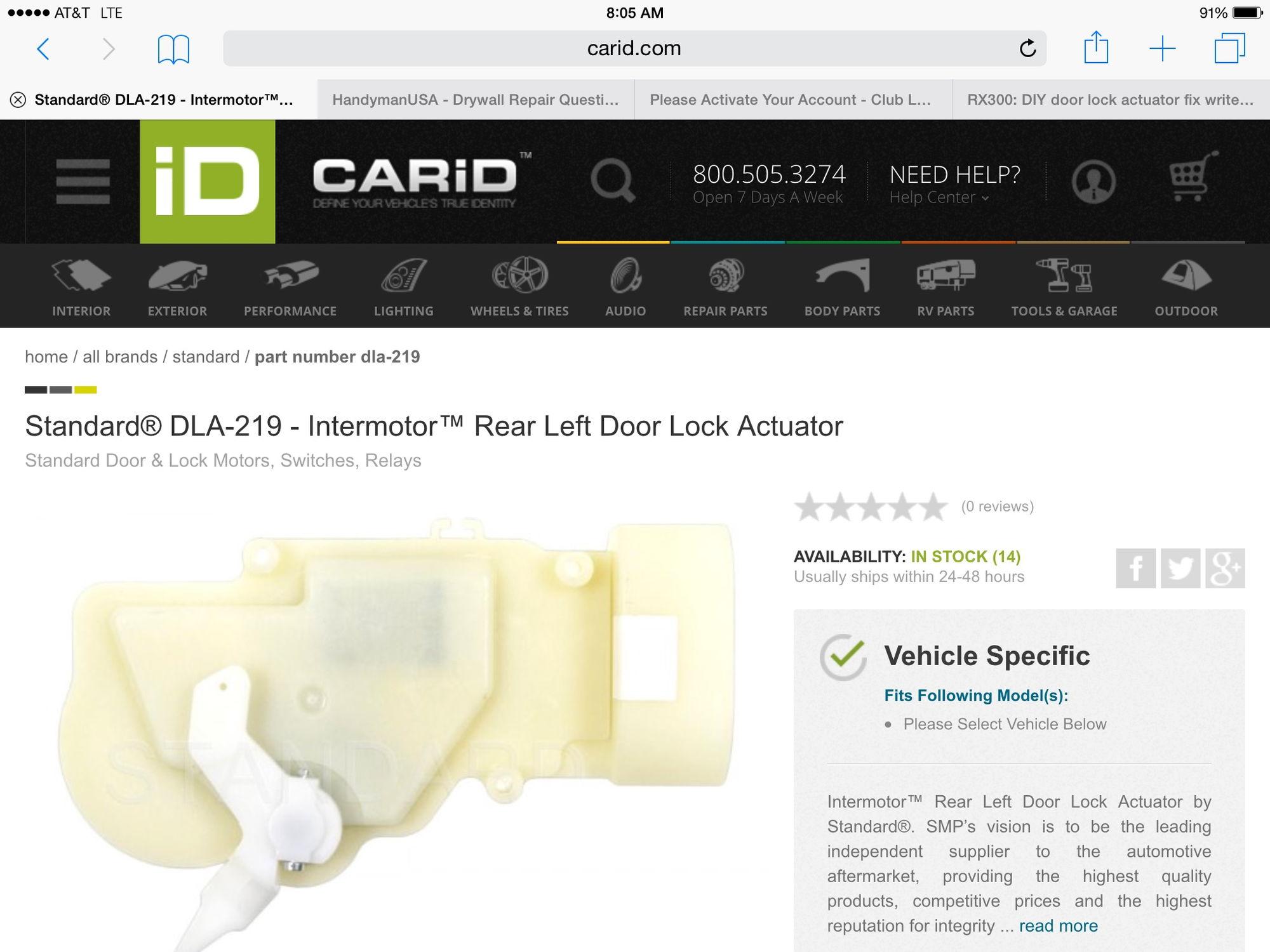 Rx300 Diy Door Lock Actuator Fix Write Up Page 17