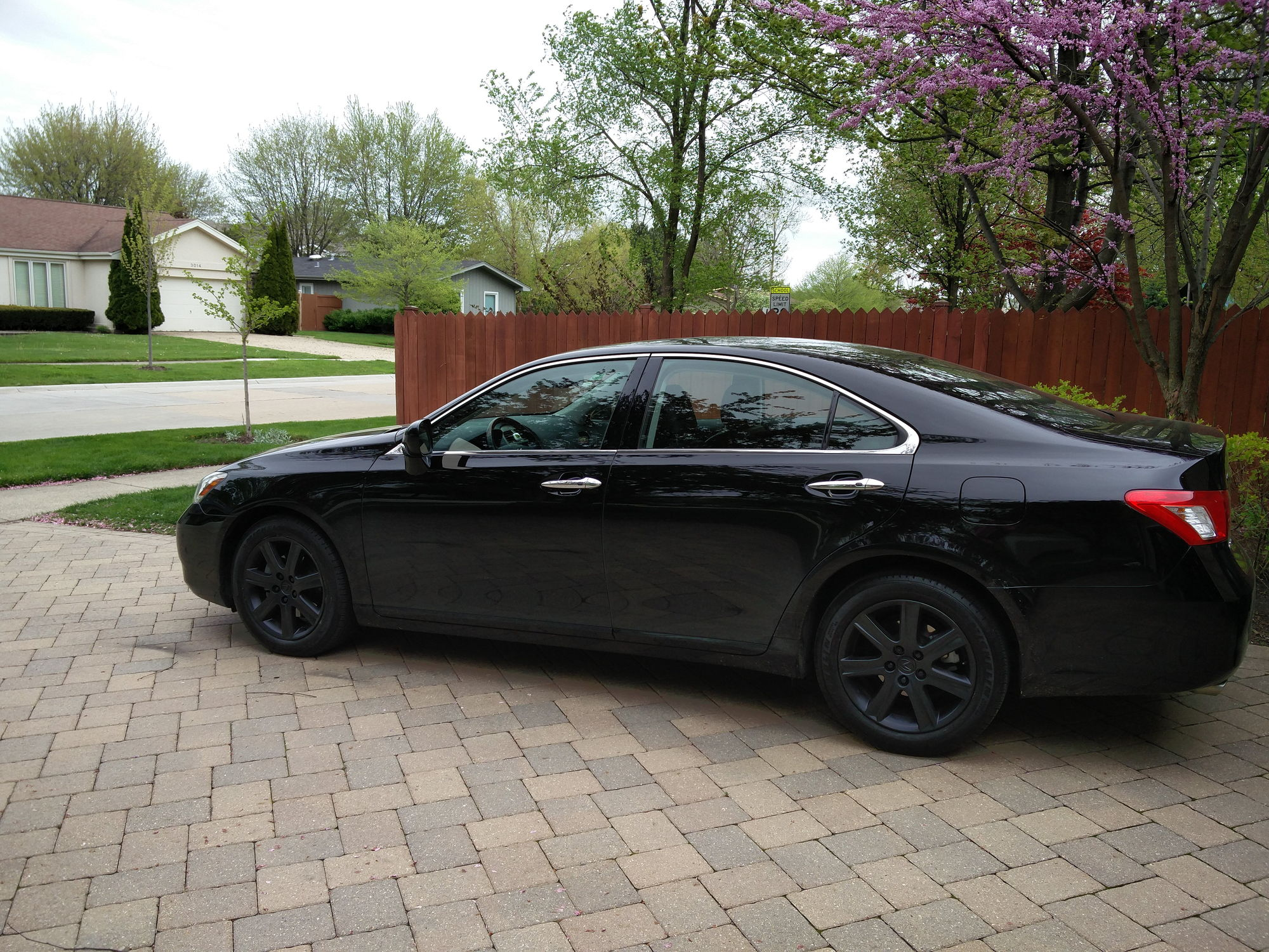 Thoughts On My Blacked Out Wheels Club Lexus Forums