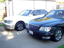 Garage - Judy's 99LS & my 2000 Sienna XLE (SOLD)