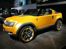 Land Rover DC100 Sport Concept side