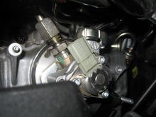High pressure fuel pump bank 2 disconnected