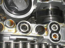 Valve cover seals installed.
