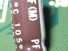 Nichicon 15 microfarad reverse