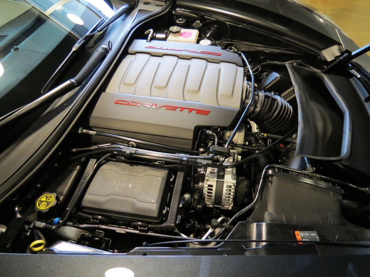2017 grand sport engine compartment photos notice for Anything with a motor