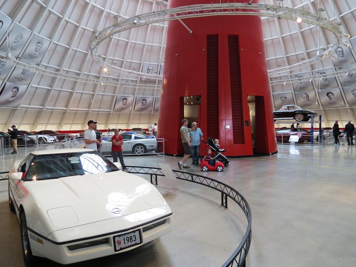 Inside The National Corvette Museum New Sinkhole Exhibit