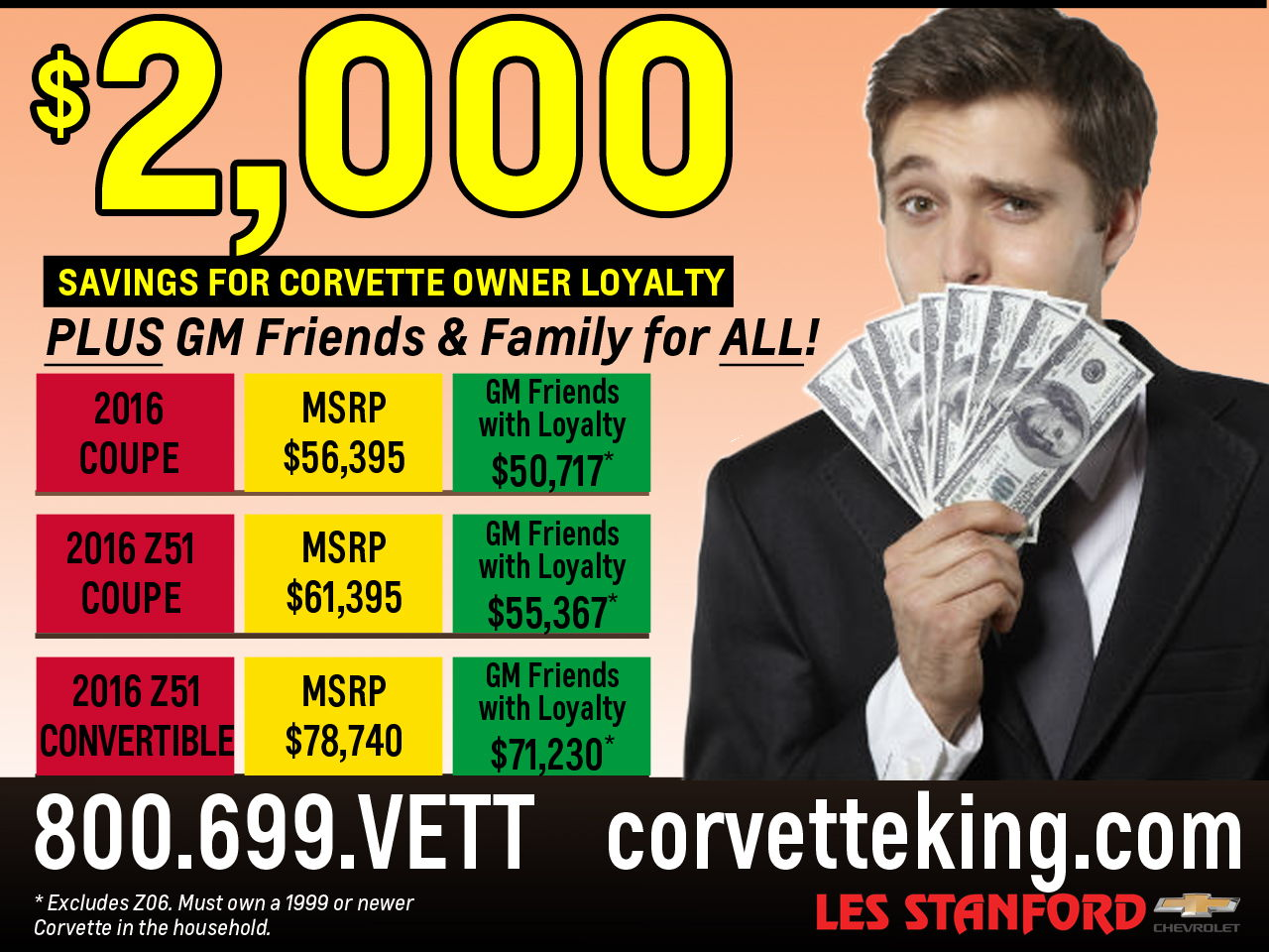 2 000 00 Corvette Owner Loyalty Plus Gm Friends And